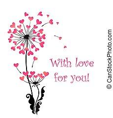 à, amour, vous