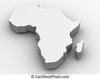 áfrica., 3d