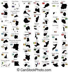 áfrica, países