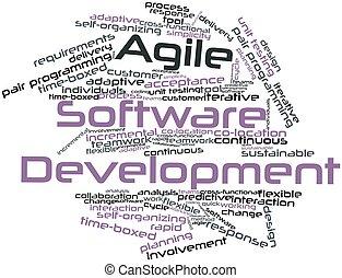 ágil, software, desenvolvimento