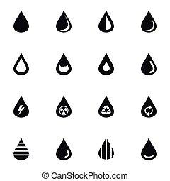água, ícone