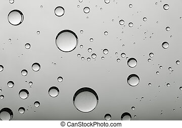 água, abstratos, fundos, bolhas