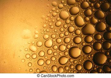 água, abstratos, gotas