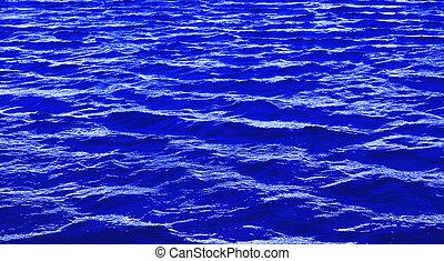 água azul, fundo