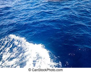 água azul, natural, mar, borbulhar, textura, gotas, experiência., esguichos, bolhas, puro, molhados, espuma, branca, ondas, ripples.