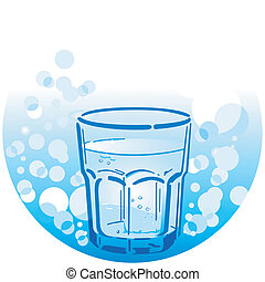 água, bebendo, limpo