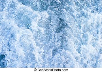 água, bolha, fundo