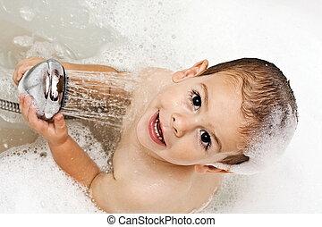água, divertimento