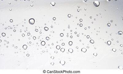 água, gotas