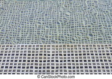 água, lattice