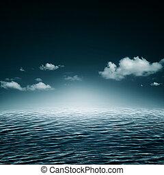 água, natural, abstratos, fundos, symphony.