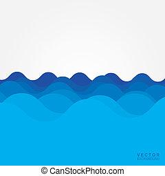 água, onda
