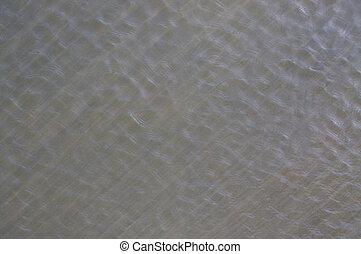 água ondula