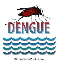 água, pernilongo, febre, dengue