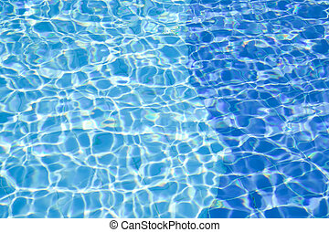 água, piscina, fundo