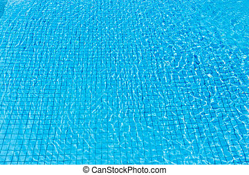 água, piscina, natação