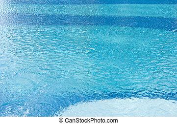 água, pool., natação