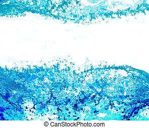 água, puro