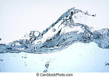 água, respingo