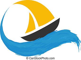 água, sailing barco