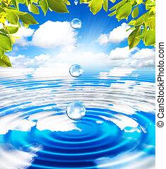 água, spa