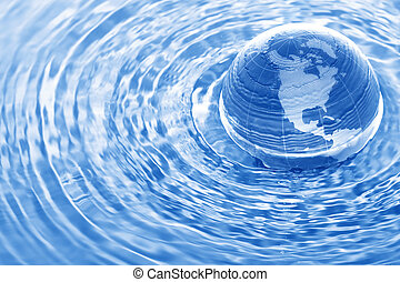 água, terra