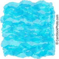 água, textura