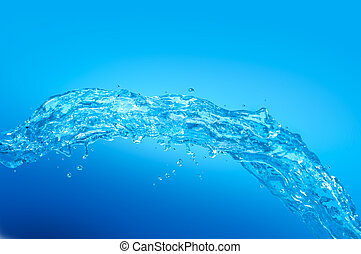 água, wave., fresco