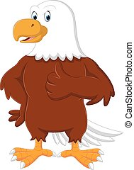 águia, caricatura