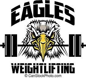 águias, weightlifting