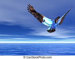 águila, helado