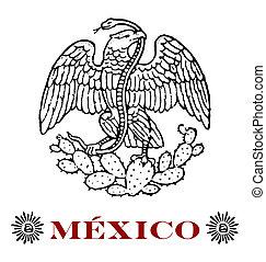 águila, mexicano