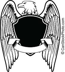águila, protector