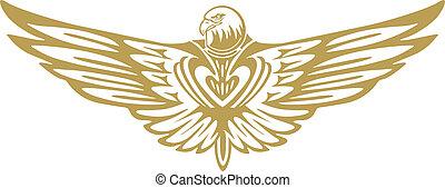 águila, señal
