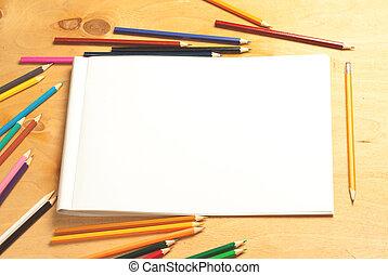 álbum, drawing.