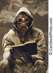 állás, apocalyptic, diák