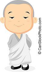 álló, szerzetes