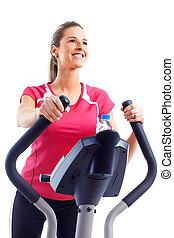 állóképesség, és, gym.