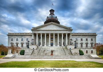 állam, carolina, kongresszus székháza washingtonban, déli
