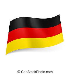 állam, germany lobogó