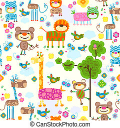 állatok, háttér