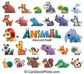állhatatos, állatok