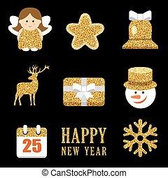 állhatatos, alapismeretek, szikrázó, arany, karácsony