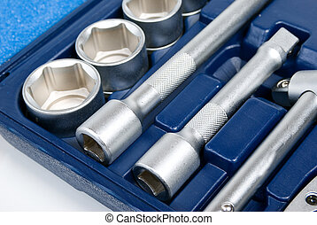 állhatatos, eszközök, háttér, fémből való