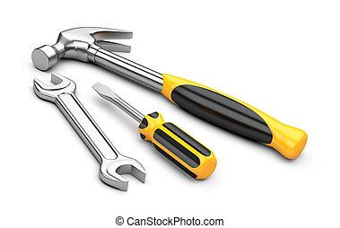 állhatatos, eszközök, szerelő