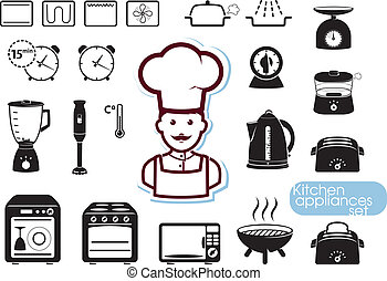 állhatatos, eszköz, konyha