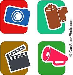 állhatatos, film, ikon