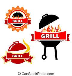 állhatatos, grill
