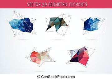 állhatatos, közül, polygonal, geometriai, elvont, alapismeretek