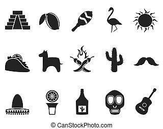 állhatatos, mexikó, ikonok